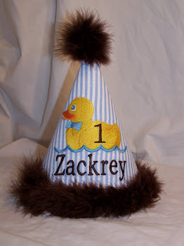 Rubber Duck Birthday Hat