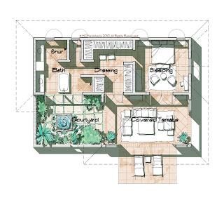 Master Bedroom Design on Island Flex House Design  Master Bedroom Component 2