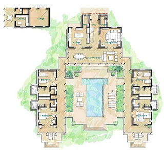 Hacienda Style Floor Plans