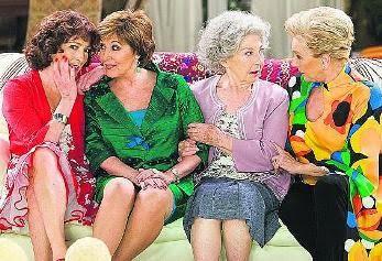 Rflx s cuatro damas de la escena espa ola resucitan a - Las chicas de oro espana ...