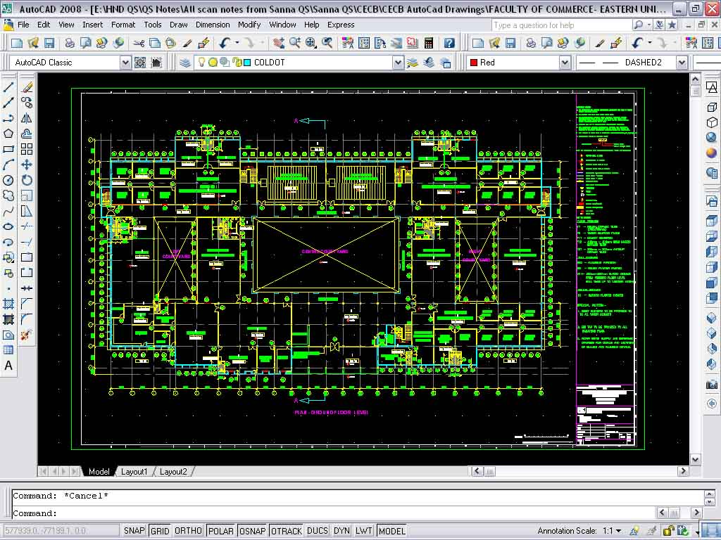 Quantity Surveying Type Of Cad Software Used In
