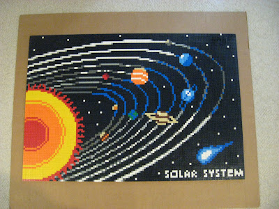 how to build a lego solar system