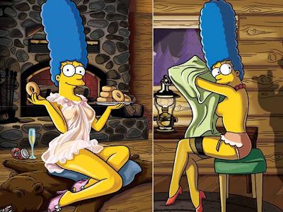 Fotos Eclusivas De Marge Simpson Para A Playboy