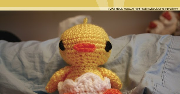 Amigurumi Joined Rounds : :: Harugurumi ::: First Pattern for Sale!