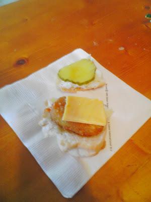 Mini Chicken Sandwich from Chicken Nuggets.