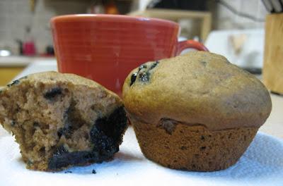 123 gluten free blueberry muffins