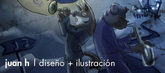juan h | diseño + ilustración