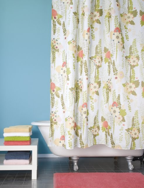 The Danica Studio Margot Shower Curtain That Is Featured In March 2010 Issue Of Canadas Style At Home Available From These Retailers