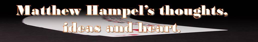 Matthew Hampel's Blog