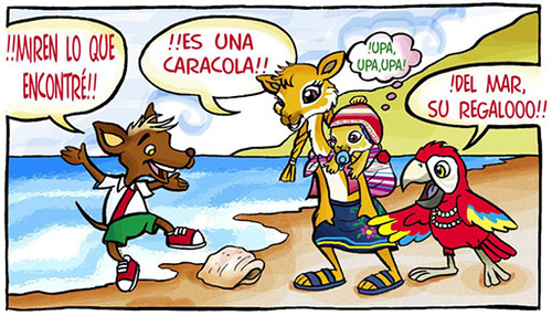 Historietas para niño - Imagui