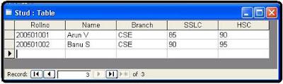 Three-tier Application Using Servlets Display Student List jdbc odbc