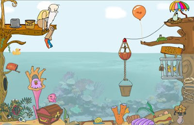 Junior Goes Fishing solucion