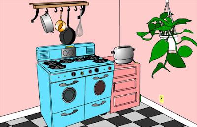 Juegos de escapar de la habitacion Escape from the Kitchen solucion
