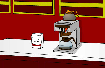 Juego de Escape Escape from the Coffee House