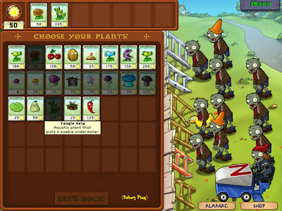 plants vs zombies plants. Plants vs Zombies review