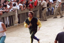 Rushing to collect the Palio!!