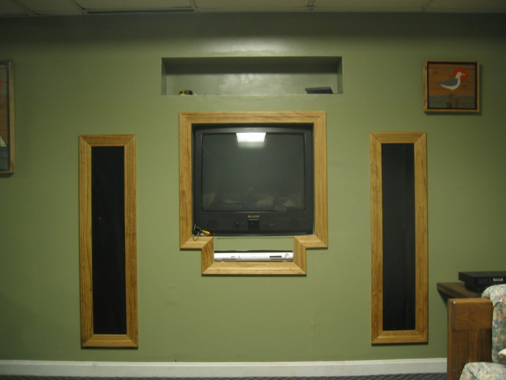 Top Notch Construction And Handyman Services Tv Speakers And Dvd