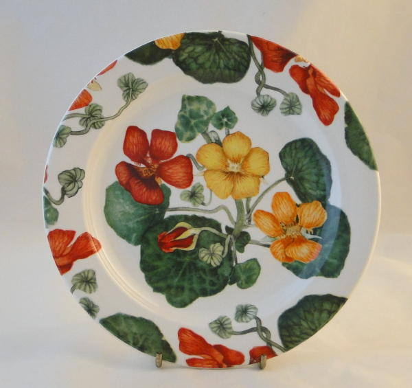 Nasturtium tableware was designed for Poole Pottery by Bryony Langworth. The pattern was introduced to the market in 1991. Its vibrant colours make it very ... & Replace Your China: Poole Pottery Nasturtium