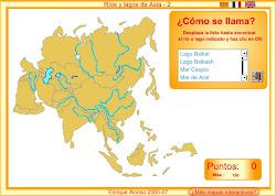 RÍOS E LAGOS DE ASIA