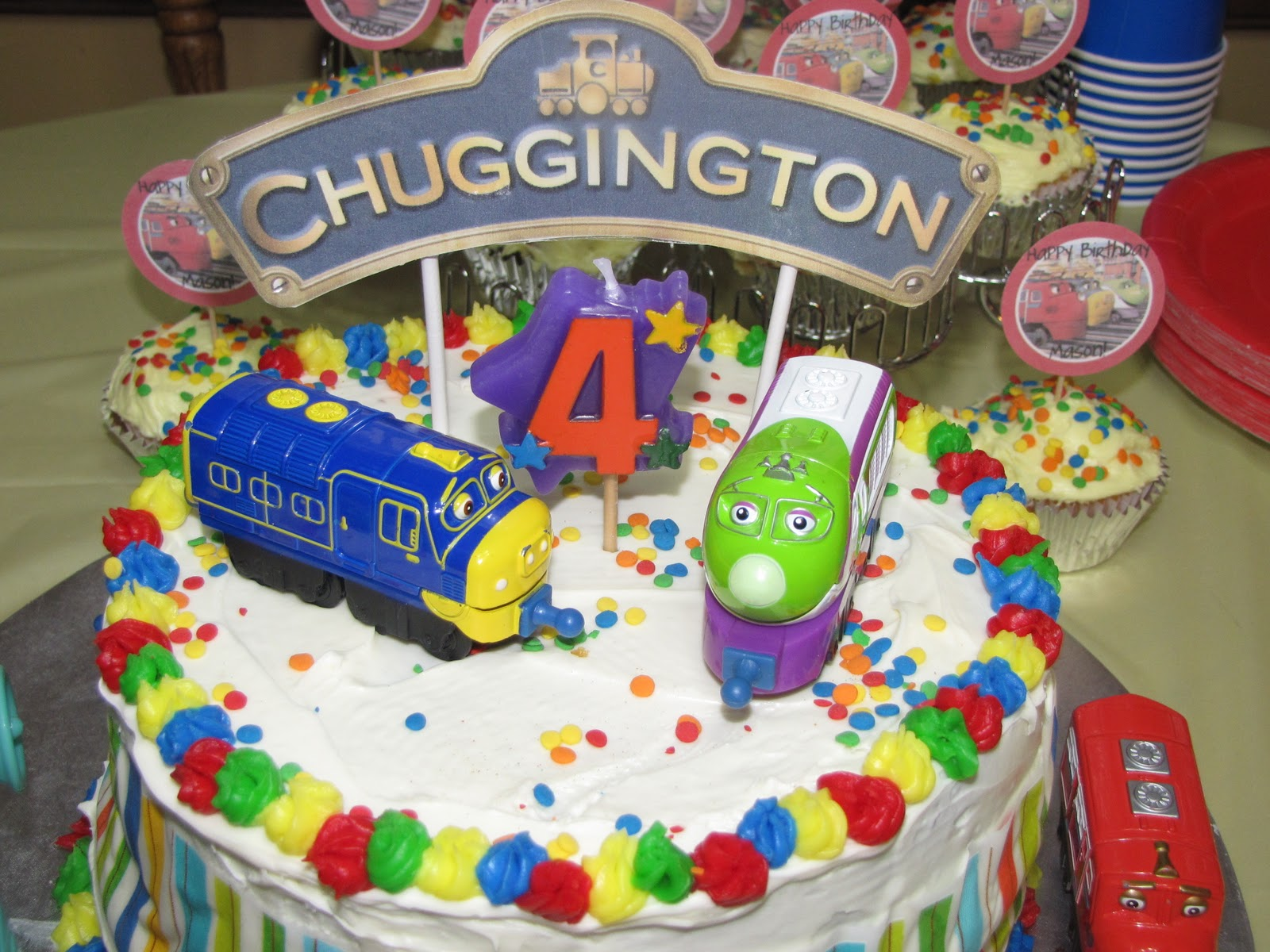 Chuggington Birthday Supplies 1st Birthday Party Pinterest