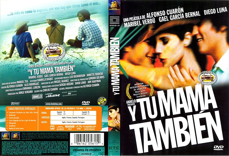 tu mama tambien essay The mexican film y tu mamá también's title is an equivalent usage in spanish  california alternative hip hop group the pharcyde's debut album bizarre ride ii the pharcyde featured as its first single ya mama mainly of the group playing the dozens, released october 8, 1992.