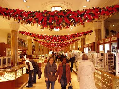 Macy´s enfeitada para o Natal de 2008