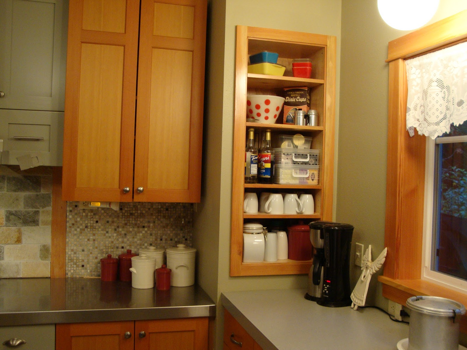Kitchen Corner Cabiwith Storage