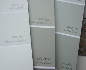 Austere Grey Paint Color