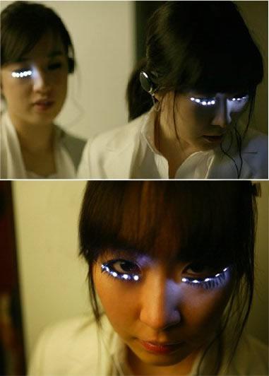 Cool LED Eyelashes