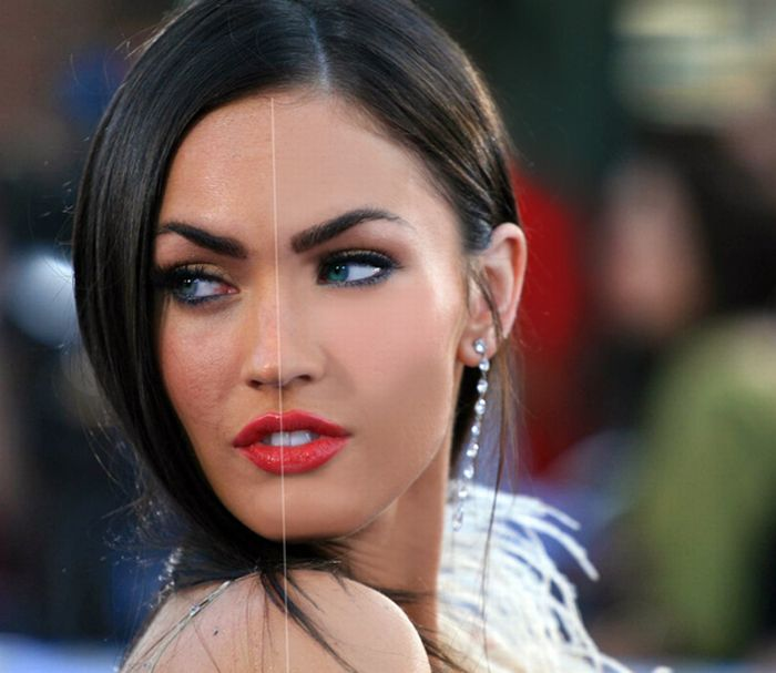 megan fox before and after photoshop. Starred in megan not meganfox