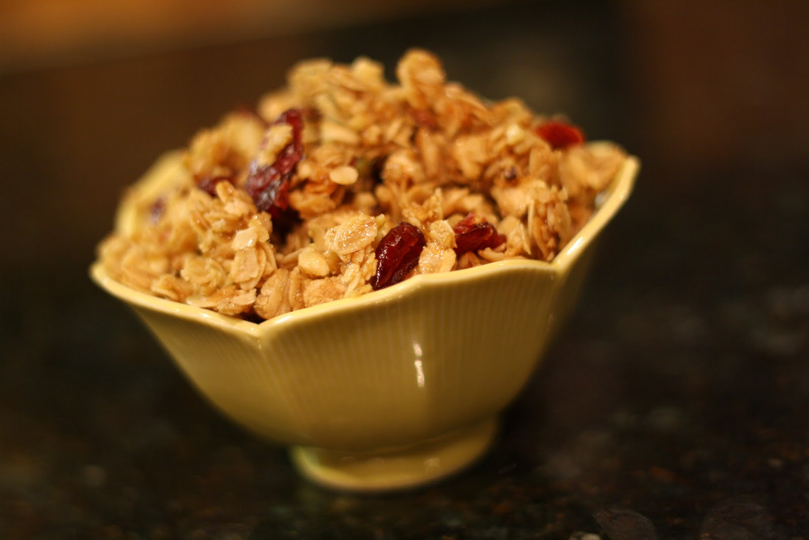 The gaines gang cherry almond granola for Alton brown oat cuisine