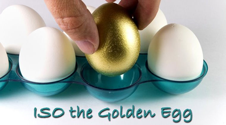 ISO the Golden Egg