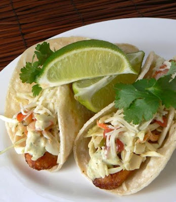 Mih product reviews giveaways beer battered fish tacos for Sauce for fish tacos