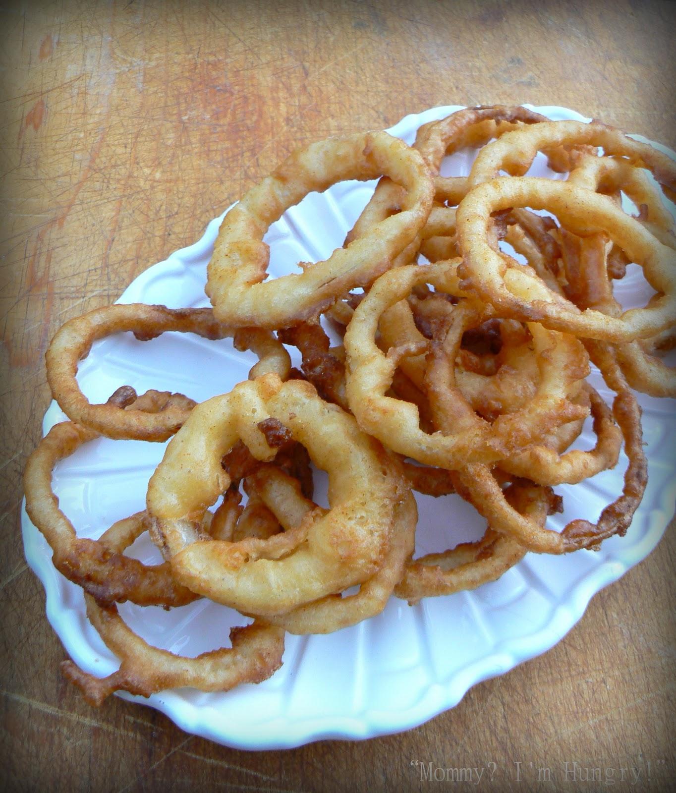 MIH Recipe Blog: Beer Battered Onion Rings