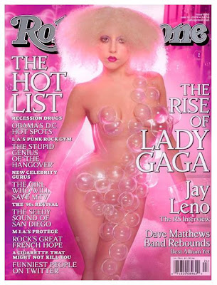 Lady Gaga on Rolling Stone magazine cover