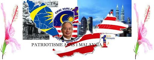 <center>Patriotisme Asas 1 Malaysia</center>