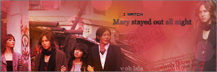 تقرير مسلسل Mary Stayed Night