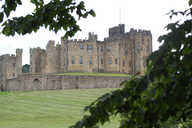 Alnwick Castle--No pictures allowed inside
