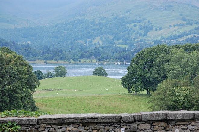 View of Lake Windermere from Wray Castle