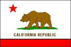 California Flag Coloring Page