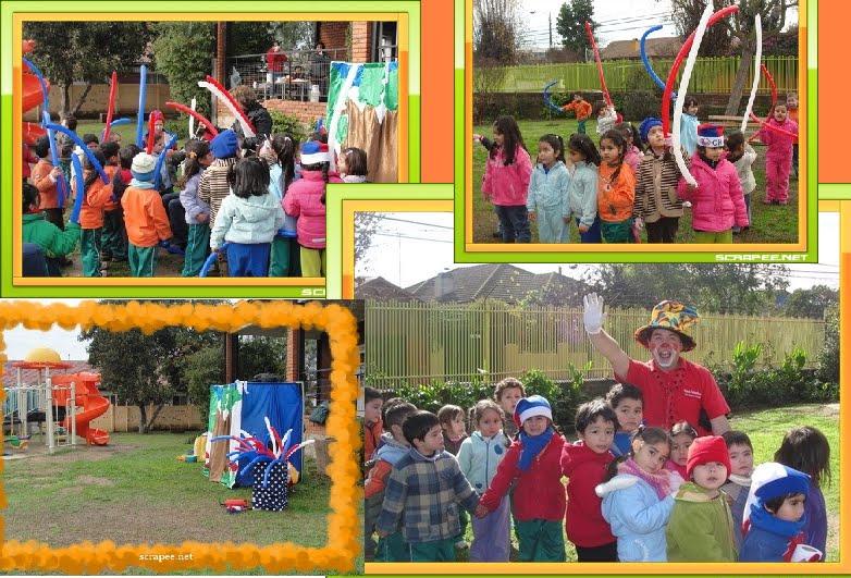 Animacion infantil arbolito en la escuela de lenguaje for Jardin infantil nubesol villa alemana