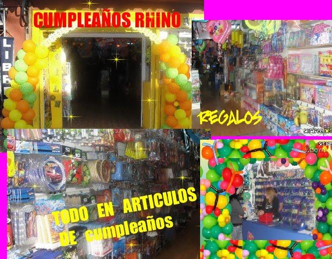 RHINO CUMPLEAÑOS