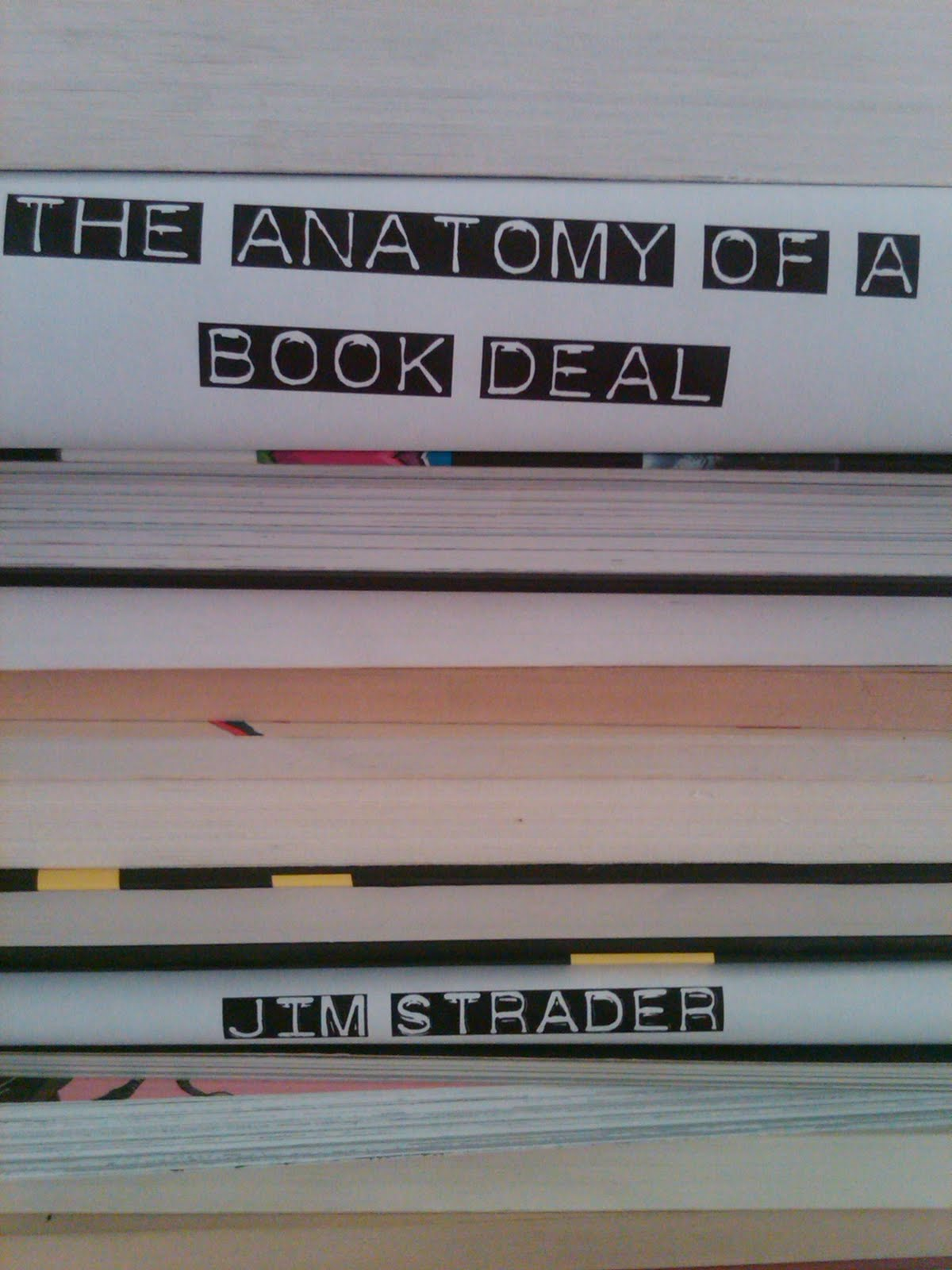 The Anatomy of a Book Deal: Negotiating a Book Contract | Tinsel ...