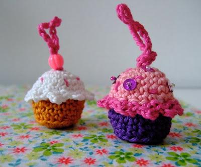 Kleine muffins häkeln
