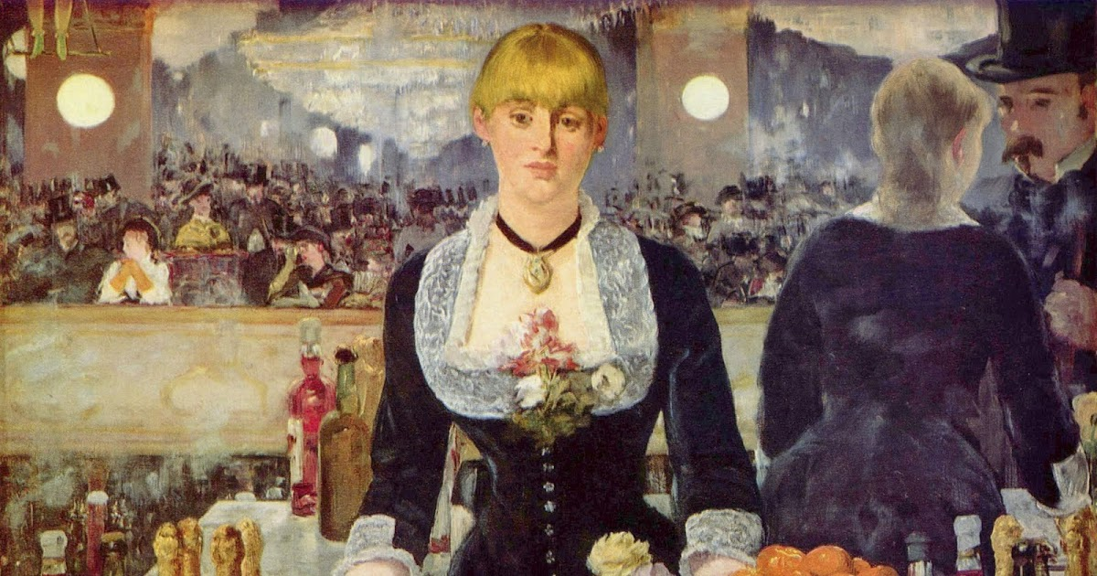 an analysis of edouard manets last painting a bar at the folies bergere The bar at the folies bergere or le bar aux this was the last piece of masterpiece he produced and painting / edouard manet `bar at the folies.