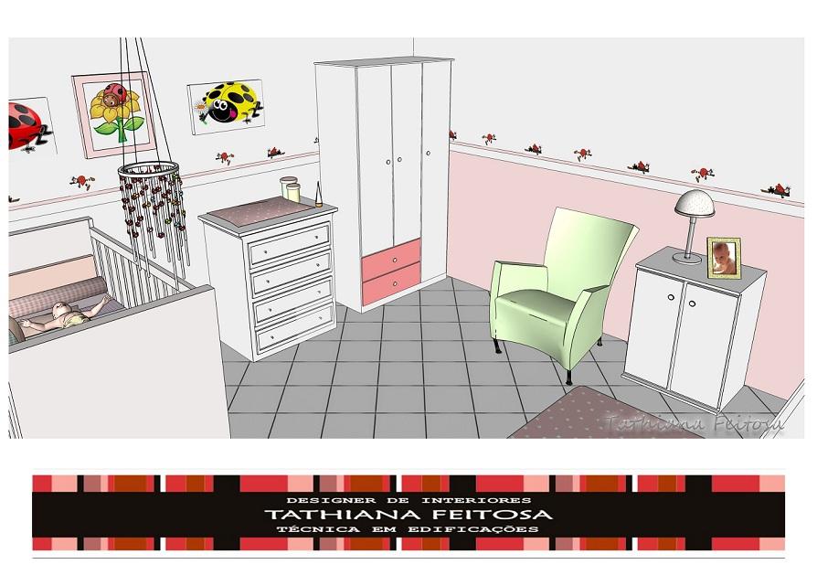 design interiores decoracao quarto bebe:Design de Interiores: QUARTO DE BEBÊ – Mostra de Decoração com