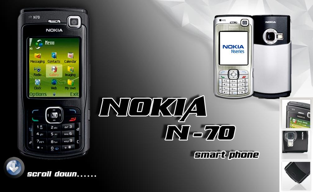 Nokia N70 Smart Phone