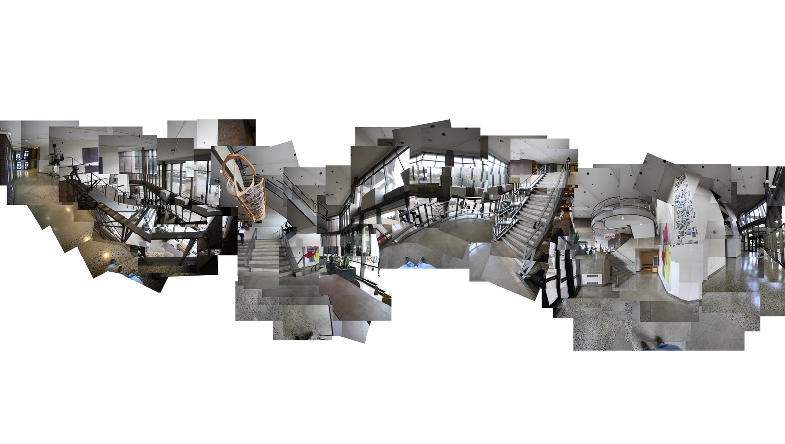 architecture in time: 2nd Sections of Collages
