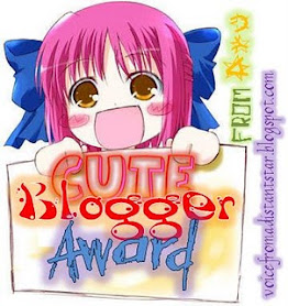 Cute Blogger Awards
