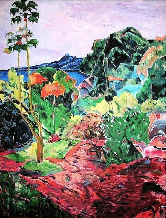 Végétation tropicale - 1887